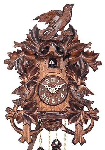 Bird EN 522/23 Q Engstler Quartz Cuckoo Clock 5-Leaves Clocks Home ...