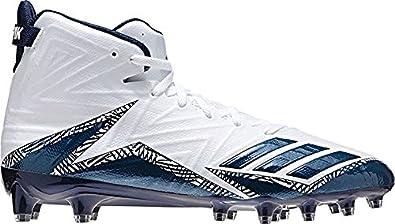54cd60e7d adidas Freak X Carbon Mid Cleat Mens Football 10 White-Collegiate  Navy-Collegiate Navy