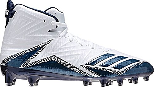 adidas Men's Freak X Carbon Mid Molded Football Cleats