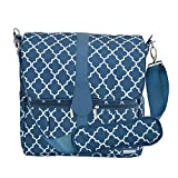 JJ Cole Backpack Diaper Bag, Navy Arbor