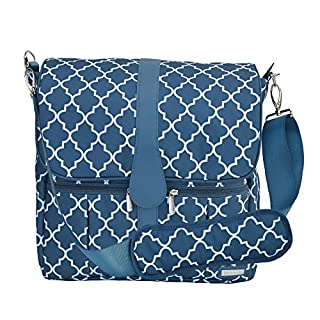 JJ Cole Backpack Diaper Bag, Navy Arbor