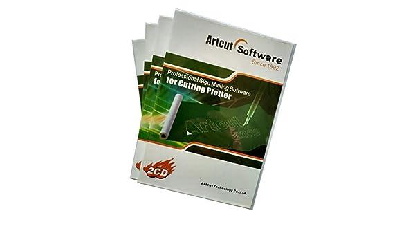 ArtCut 2009 Software para Windows 9 x/Me/2000/XP/Vista/7 sistema de ordenador diseño de vinilo de corte plotter sintética: Amazon.es: Juguetes y juegos