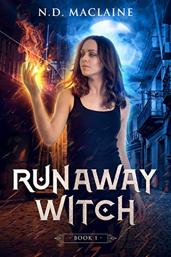Runaway Witch by N.D. MacLaine ebook deal