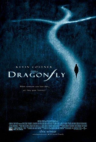 DRAGONFLY Original Movie Poster 27x40 - Dbl-Sided - Kevin Costner - Joe Morton - Ron Rifkin - Susanna Thompson