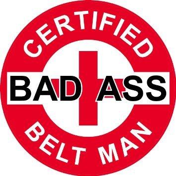 Bad Ass Belts - 3 - Red Certified Bad Ass Belt Man 2