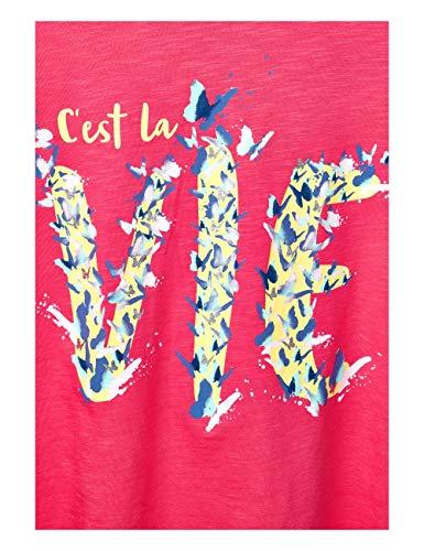 dark Mujer Pink Street 31709 Mehrfarbig Camiseta Blossom One Para tXSCwgq