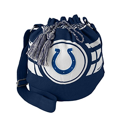 NFL Indianapolis Colts Ripple Drawstring Bucket Bag ()