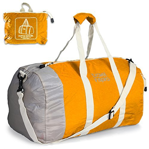 Foldable Travel Luggage Duffle Bag Lightweight for Sports, G
