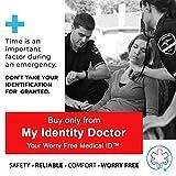 Medical Alert Bracelet for Women, Custom Engraved