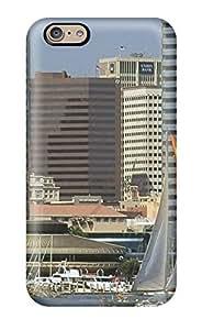 New Tpu Hard Case Premium Iphone 6 Skin Case Cover(city Skyline )