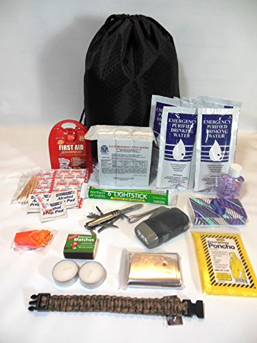 72 Hour 3 Day Survival Disaster Kit Emergency Preparedness Food Water and Gear 3 Day Survival Kit
