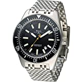 Ball Engineer Master II Skindiver II Watch COSC Date Black Dial DM3108A-SCJ-BK 44mm with Rubber Strap BOX SET
