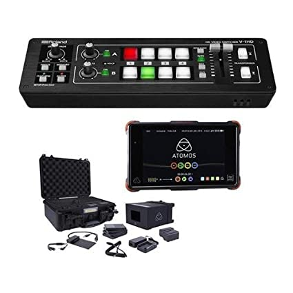 Amazon.com: Roland V-1HD HD Video Switcher - Bundle with ...