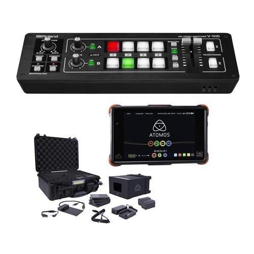 Amazon.com: Roland V-1HD HD Video Switcher - Bundle with ...