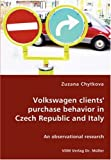 Volkswagen Clients' Purchase Behavior in Czech Republic and Italy, Zuzana Chytkova, 3836453525