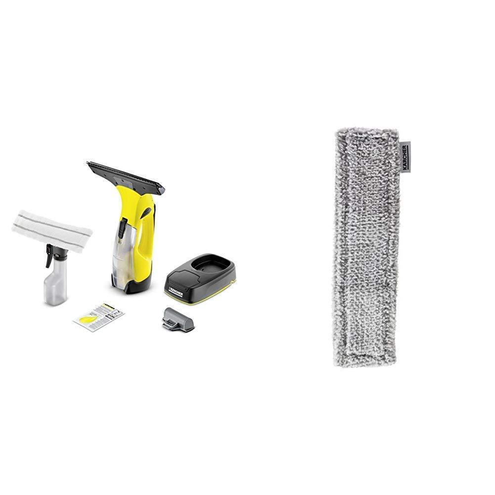 Karcher Akku Fenstersauger WV 5 Plus Non Stop Cleaning Kit Mikrofaser