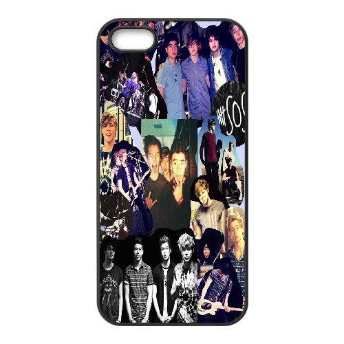 High quality 5 Second of Summer music band - 5SOS Band for fans durable cases For Apple Iphone 5 5S Cases NLL872120808