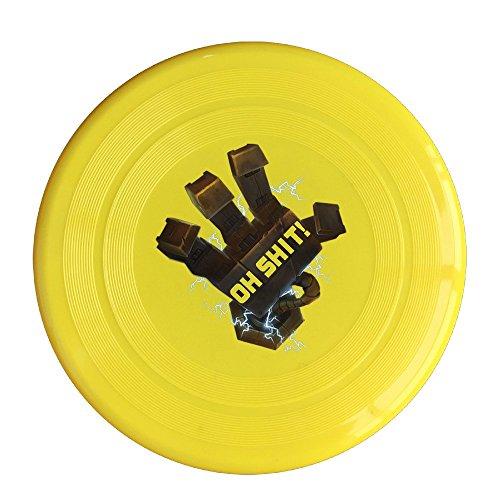 SYYFB Unisex Blitzcrank League Ligntning Of Legends Outdoor Game Frisbee Flyer Frisbee Yellow ()