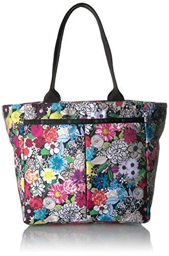 LeSportsac Classic Everygirl Tote Handbag, sunlight floral
