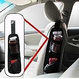 Universal Car Seat Side Storage Organizer Multi Pocket Hanging Bag Holder Portable Hanging Storage Bag With Multi-pocket Mesh