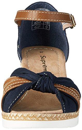 Supremo Damen 2720704 Sandalen Blau (Navy)