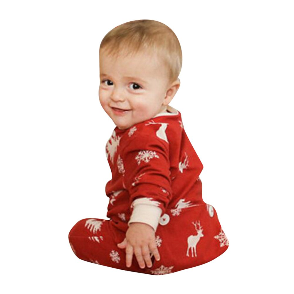 Bebé mameluco Ropa de una pieza bebé mono de Niños Niñas Bodysuit Pijama Manga Larga Trajes hibote Network technology Ltd