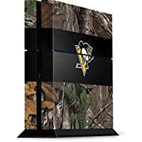 Pittsburgh Penguins PS4 Console Skin - Pittsburgh Penguins Realtree Xtra Camo | NHL X Skinit Skin