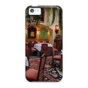 For Iphone 5c Tpu Phone Case Cover(beautiful Interior Of A Restaurant)