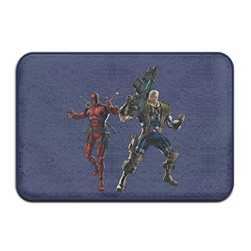 [VDSEHT Deadpool Cable Movie 2016 Fighting Non-slip Doormat] (Marvel Cable Costume)