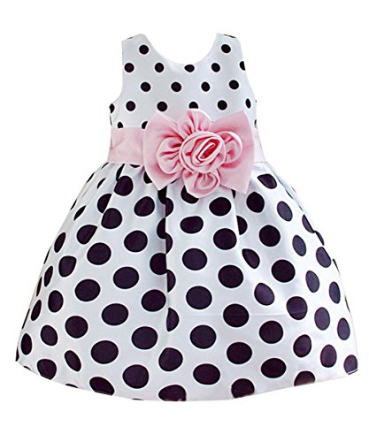 Hotone Girls Polka Flower Fancy