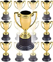 """The Dreidel Company Award Trophies Gold for Sports, Ceremonies, Parties, or Events, 4"""" Gold Trophy (12-"""