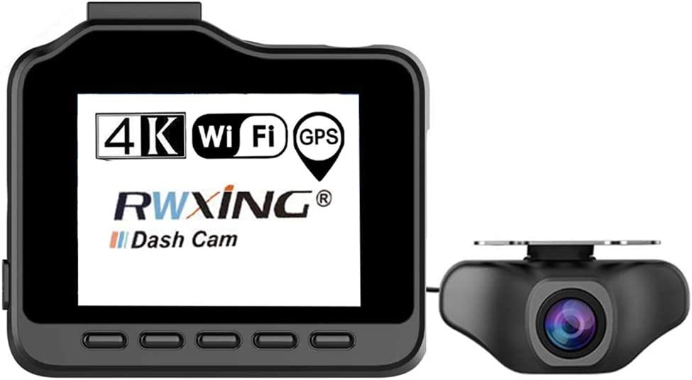 Dashcam Auto Wifi Gps 4k Uhd 3840x2160p Vorne Dashcam Elektronik