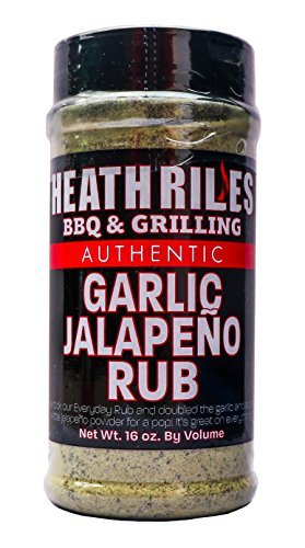 Heath Riles BBQ (Garlic Jalapeno Rub)