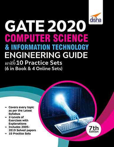 GATE 2020 Computer Science & Information Technology Guide with 10 Practice Sets, 7th edition Front Cover