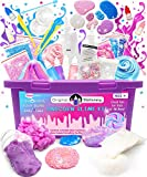 Original Stationery Unicorn Slime Kit Supplies Stuff for Girls Making Slime [Everything in One Box] Kids Can Make Unicorn, Glitter, Fluffy Cloud, Floam Putty, Pink
