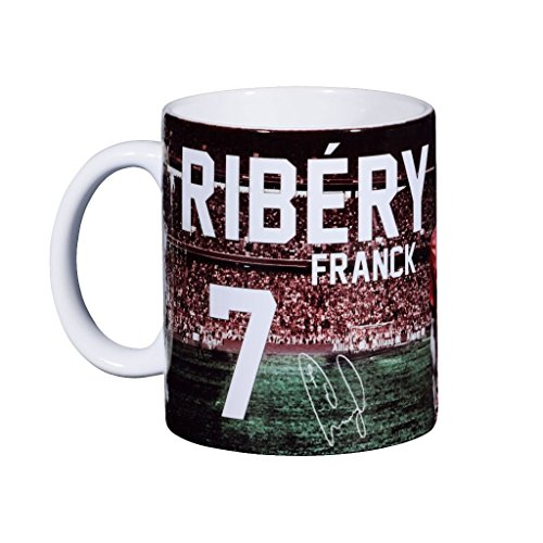 Spieler Tasse Franck Ribery FC Bayern München Cup, Mug, coffee pot, cubilete, gobelet, jug, jarra, Kaffeetasse, Tasse, cruche FCB