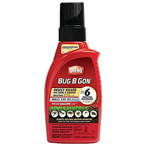 Ortho Bug B Gon Concentrate Insect Killer for Lawns & Gardens (Case of 6) - Ortho Garden Disease Control