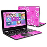 MightySkins Protective Vinyl Skin Decal for Lenovo Flex 3 11'' wrap cover sticker skins Flower Power