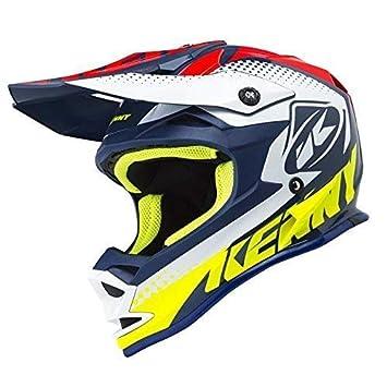 KENNY Performance Casco de Motocross 2018 – Azul Marino Rojo, Red, Navy