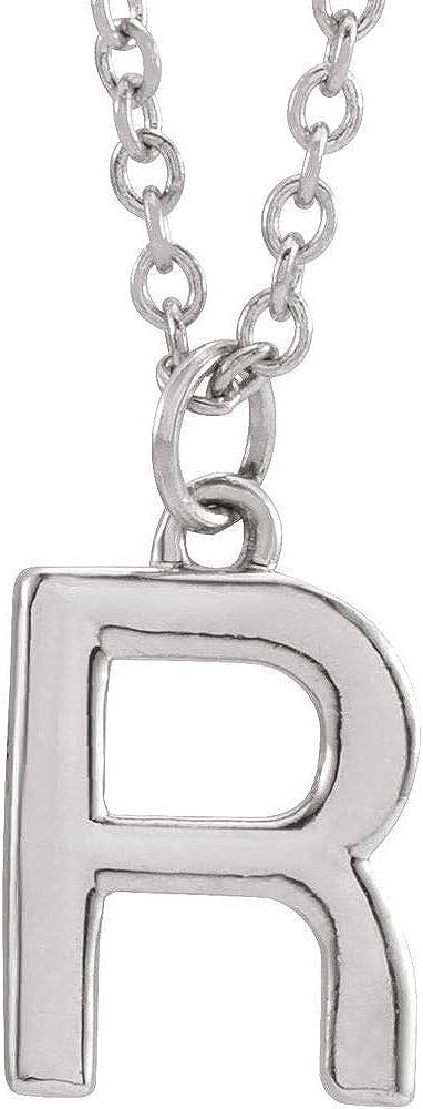 DiamondJewelryNY Fancy Initial Necklace