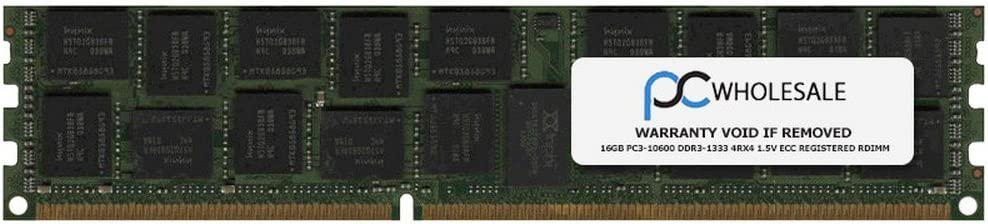HP PN# NL674AA HP 16GB PC3-10600 DDR3-1333 4Rx4 1.5v ECC Registered RDIMM