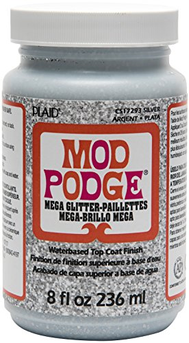 Mod Podge CS17293 Mega, 8 oz, Silver -