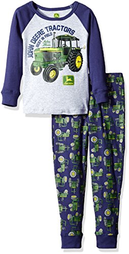 john-deere-toddler-boys-2-piece-pajama-set-heather-grey-navy-4t
