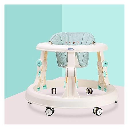 WMYJXD Andador para Bebés, Andador Plegable De Seis Ruedas ...