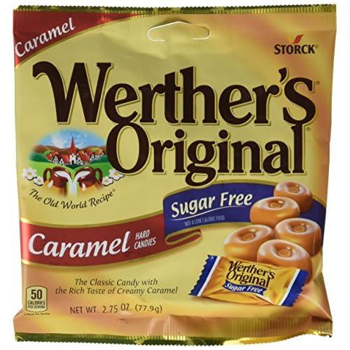 Werthers Original Sugar Free Caramel Hard Candies 12 pack