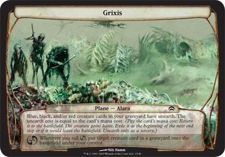 Magic: the Gathering - Grixis - Planechase - Planes