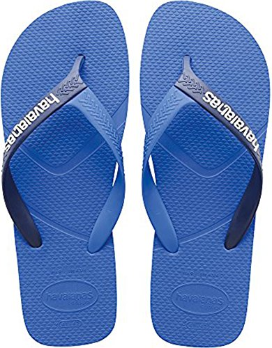 Sandali blu scuro per unisex Havaianas Logo mAbECg