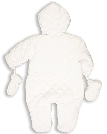8b3b9f1b12dd Quilted Baby Snowsuit EO2 (12-18 months)  Amazon.co.uk  Baby