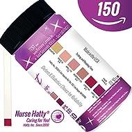 Nurse Hatty - Ketone Strips 150ct. NOW Made in USA - NEW & IMPROVED - Professional Grade Ketone Test Strips to Benefit Your Ketogenic, Paleo, Atkins & Diabetic Diets + Brand New BONUS PDF Edu. Pack