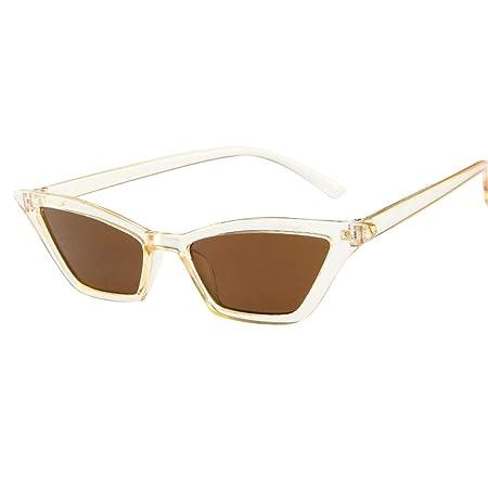 LILICAT® Fashion Unisex Gafas de Sol Coloridas Gafas de Sol de Moda Gafas de Sol Retro Gafas de Jalea Transparentes Gafas de Sol polarizadas para Mujeres, ...